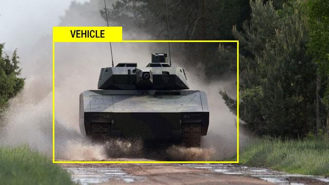 Supashock Defence Vehicle Detection