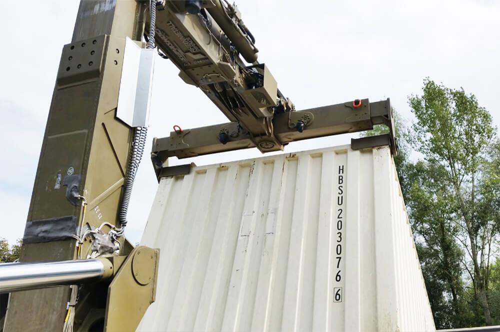 Supashock Defence Technologies ALHS Container Loader